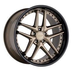 TSW Wheels Premio - Matte Bronze w/ Gloss Black Lip Rim