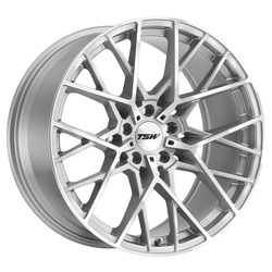 TSW Wheels Sebring - Silver W/Mirror Cut Face Rim - 22x10.5