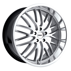 TSW Wheels Snetterton - Hyper Silver W/Mirror Cut Lip - 19x8