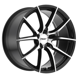 TSW Wheels Sprint - Gloss Black W/Mirror Cut Face - 19x8.5