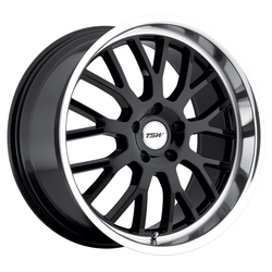 TSW Wheels Tremblant - Gloss Black W/Mirror Cut Lip - 19x8