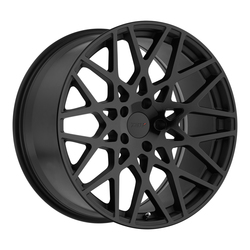 TSW Wheels Vale - Double Black - Matte Black W/Gloss Black Face