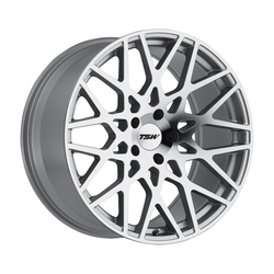TSW Wheels TSW Wheels Vale - Silver W/Mirror Cut Face - 19x8.5