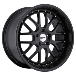 TSW Wheels Valencia - Matte Black - 19x8