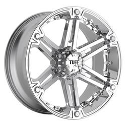 Tuff Wheels T01 - Chrome with Chrome Inserts Rim