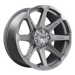 Tuff Wheels T05 - Satin Gunmetal Rim
