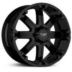 Tuff Wheels T13 - Flat Black Rim