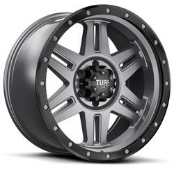Tuff Wheels T16 - Satin Black Rim