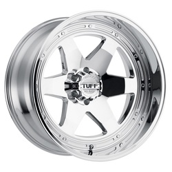 Tuff Wheels T1A - Chrome - 24x12