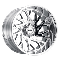 Tuff Wheels T4B - Chrome Rim - 24x14