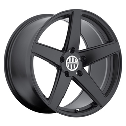 Victor Equipment Wheels Baden - Matte Black Rim - 22x10.5