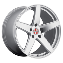 Victor Equipment Wheels Baden - Silver with Mirror Cut Face - 18x10.5