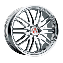Victor Equipment Wheels Lemans - Chrome - 19x8