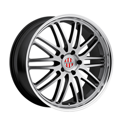 Victor Equipment Wheels Lemans - Hyper Silver with Mirror Cut Lip - 20x11