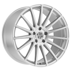 Victor Equipment Wheels Sascha - Silver with Brushed Machine Face Rim - 19x10.5