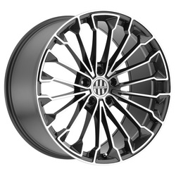 Victor Equipment Wheels Wurttemburg - Gunmetal with Mirror Cut Face - 18x10.5