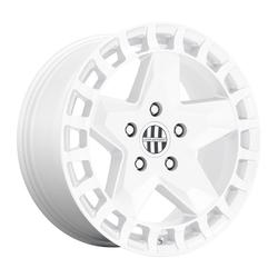Victor Equipment Wheels Alpen - Gloss White Rim - 17x8