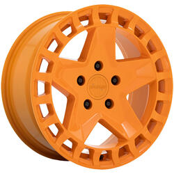 Victor Equipment Wheels Alpen - Gloss Orange Rim - 17x8