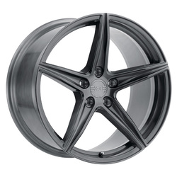 XO Luxury Wheels Auckland - Full Brushed Gunmetal Rim - 22x11