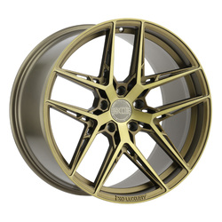 XO Luxury Wheels Cairo - Bronze w/Brushed Bronze Face Rim