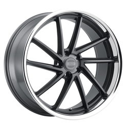XO Wheels Florence - Gunmetal w/Brushed Face