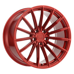 XO Luxury Wheels London - Candy Red Rim