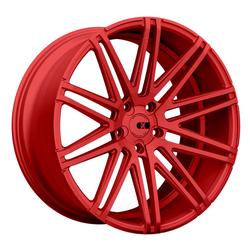XO Luxury Wheels Milan - Candy Red Rim - 22x9
