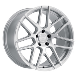 XO Wheels Moscow - Silver w/Milled Spoke & Brushed Face