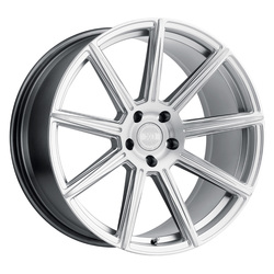 XO Wheels Vegas - Silver w/Brushed Silver Face Rim - 21x9