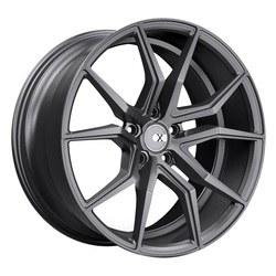 XO Luxury Wheels Verona - Matte Gunmetal Rim - 19x9