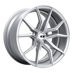 XO Wheels Verona - Silver w/Brushed Face
