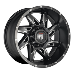 American Truxx Wheels AT183 Spyder - Black/Milled Rim