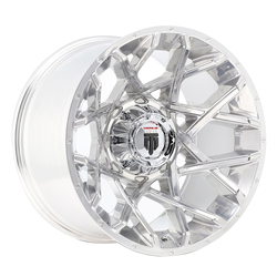 American Truxx Wheels AT1901 Gridlock - Polished/Beadlock Rim