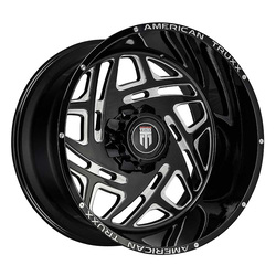 American Truxx Wheels AT1904 Cosmos - Black/Milled Rim