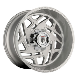 American Truxx Wheels AT1904 Cosmos - Brushed Texture Rim - 24x14