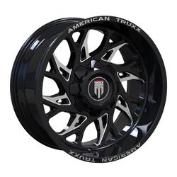 American Truxx Wheels AT1913 Destiny - Black Machined Face Rim