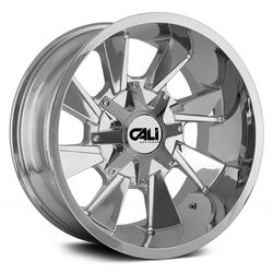 Cali Off-Road Wheels 9106 Distorted - Chrome Rim