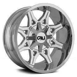 Cali Off-Road Wheels 9107 Obnoxious - Chrome Rim - 22x12