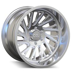 Cali Off-Road Wheels Purge 9114 - Polished/Milled Spokes Rim