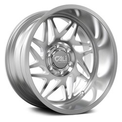 Cali Off-Road Wheels Gemini 9113 - Brushed & Clear Coated Rim