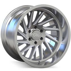 Cali Off-Road Wheels Purge 9114 - Brushed w/Clear Coat Rim