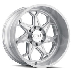 Cali Off-Road Wheels Sevenfold 9111 - Brushed & Clear Coated Rim