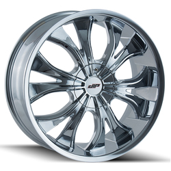 DIP Wheels Hustler D42C - Chrome Rim - 24x9.5