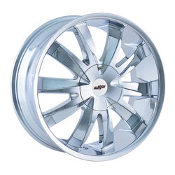 DIP Wheels Edge D37C - Chrome Rim