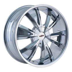 DIP Wheels Vibe D38C - Chrome Rim - 24x9.5
