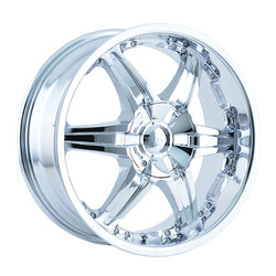 DIP Wheels Wicked D39C - Chrome Rim