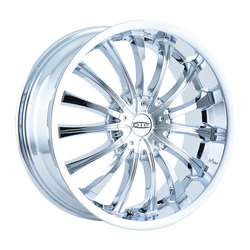 DIP Wheels Hype D50C - Chrome