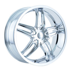 DIP Wheels Bionic D63C - Chrome