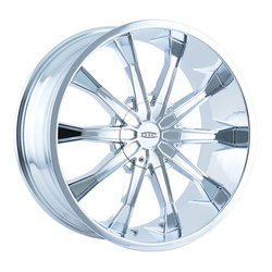 DIP Wheels Mortar D99C - Chrome
