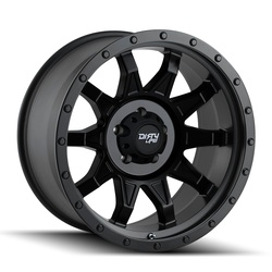 Dirty Life Wheels Roadkill 9301 - Matte Black wi/Black Beadlock